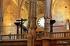 Los Jertónimos.   Lisboa.  Portugal. (blanferblanc) Tags: monasterio osjeronios lisbon lisboa portugal cristo cruz
