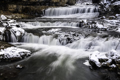 Willow Falls at Willow River State Park in Hudson, Wisconsin (Lorie Shaull) Tags: discoverwisconsin wisconsin willowfalls waterfall winter snow ice willowriverstatepark hudson stcroixcounty