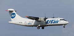 ATR42 | VP-BLI | VKO | 20110818 (Wally.H) Tags: atr42 vpbli utair vko uuww moscow vnukovo airport