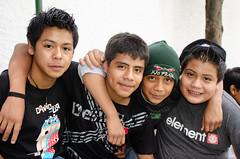 Friendship the element of no fear (Pejasar) Tags: boys friends element nofear arminarm courage students escuelaintegrada antigua guatemala