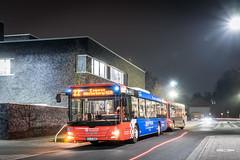 PlusBus (Lion's City + Göppel MaxiTrain) am Wissenschaftspark (busknipser) Tags: man lions city göppel osnabrück vos campus westerberg busspotting busspotter bus busfotografie
