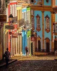 Salvador, Bahia, Brazil - Cityscape (image.maraujo) Tags: decoration design houses paint colors architecture portugal tour cityscape city placetogo trip travel pelourinho bahia salvador brazil