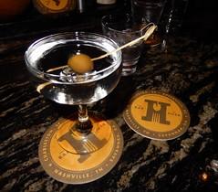 martini (Just Back) Tags: gin booze neat shaken olive fruit wet alcohol glass bar slurp sip cold charleston sc carolina