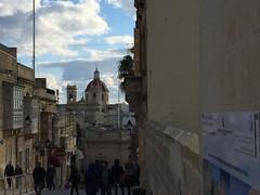 094_Rabat (SmoKingTiger1551) Tags: malta gozo isle mediterranean rabat city street houses stonewall
