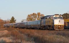 Early Morning Via (Joseph Bishop) Tags: via 6402 emd f40ph3 cndundassubdivision brantford trains train track tracks railfan railroad railway rail rails