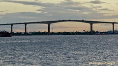 Sunset over Jules Wijdenbosch Bridge, Paramaribo, Suriname (Sebastiao P Nunes) Tags: puente ponte bridge sunset pordosol solpoente atardecer entardecer commewijne suriname paramaribo juleswijdenbosch ballastnedam meerzog