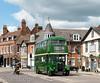 RT2083 leaves Hertford during a Hertford Bus Running Day