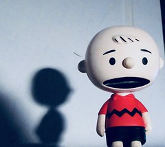Charlie Brown Wearing a Red Shirt 1370 (Brechtbug) Tags: charlie brown snoopy medicom sunday funnies news paper comic strip characters action figures peanuts schultz charles film movie dog beagle pet dogs joe cool universe nyc 2019 toys toy blue red new york city animation christmas tv special halloween thanksgiving good old ole young