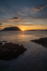 Sunrise Sardinia (markusgeisse) Tags: sunrise sardinia sonnenaufgang sardinien italien italy meer morgen sky see rock stein strand wolken clouds gelb yellow water wasser sony alpha