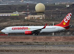 PH-CDE Corendon Dutch Airlines (Gerry Hill) Tags: tenerife sofia airport gerry reina international south sur aeropuerto hill pussy spain canary canarias canaria island islands islas d90 d80 d70 d7200 nikon aircraft aeroplane airline airplane sandos transport canarios los abrigos tfs gcts espania phcde corendon dutch airlines boeing 7378kn b737 b 737 800 8kn