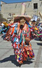 Tiliche Dancer Danzante Oaxaca Mexico (Ilhuicamina) Tags: danzante dancers mexican oaxacan tiliche costumes masks mascara