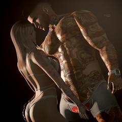 ᴄʟᴏsᴇʀ.. (JaySon93.Sl) Tags: harajuku tattoo speakeasytattoo cucadesigns pose secondlifestore secondlifemarket secondlifemen secondlifewomen secondlife slavi blogger blog bodyink couple