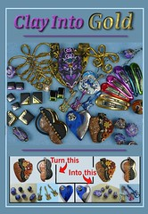 Clay Into Gold PDF Cover Finale (SomewhatOdd) Tags: resin tutorial mixedmedia polymerclay polyclay premo fimo technique gold sculpey silver howto instructions clay liquidclay teach learn uvresin ultraviolet sun swarovskicrystals project projects metallic metal resincrafts polymerclaytutorial