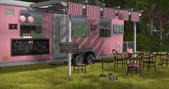 For Sale! (Sivyaleah (Elora)) Tags: second life virtual bellisseria camper trailer wilderness