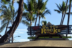 RonRitaI1 (ONE/MILLION) Tags: vacation travel bigisland hawaii hilton hotel tram ride boats flags transportation birds trees ocean beach dolphin fish bridge ronstanley ritastanley cindysiebertkelly ron rita cindy williestark onemillion turtles honu kona ontherocks bar grill raysonthebay palms