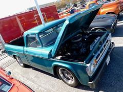 1968 Dodge D-100 (splattergraphics) Tags: 1968 dodge d100 pickup truck custom mopar carshow endlesssummercruisin oceancitymd