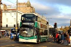 Photo of East Coast Buses 20007 SG68LBU Edinburgh 28 October 2019