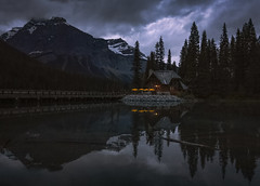 After hours (Robert Grove 2) Tags: dark closed lake canada emerald