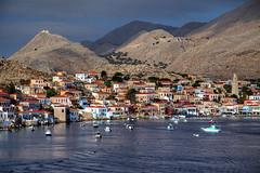 Leaving Chalki (hapulcu) Tags: aegean chalki dodecanese grece grecia greece griechenland halki yunanistan δωδεκάνησα ελλάδα χάλκη