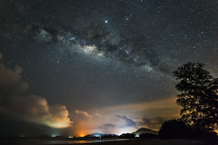 stunning beautiful milky way photography (elmanther123) Tags: night deep stars dark astronomy nocturnal starlight galaxy grow fantasy twinkle adventure cosmos growing bright concept constellation ridge landscape outdoor planet scenery heaven nature milky infinite starfield starry astrology cloud nebula