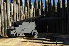 Ft Loudon Canon (c coop) Tags: ftloudoun buildings manmade revolutionary war british cannon