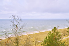 025140a  Couples Therapy (David G. Hoffman) Tags: lake lakeshore lakemichigan horizon beach beachgrass clouds