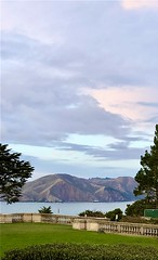 The hills of Marin, California (JoeGarity) Tags: goldengate pacificocean pacificcoast clouds cliff hills marin california
