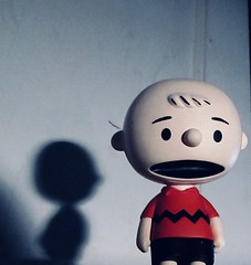 Charlie Brown Wearing a Red Shirt 1369 (Brechtbug) Tags: charlie brown snoopy medicom sunday funnies news paper comic strip characters action figures peanuts schultz charles film movie dog beagle pet dogs joe cool universe nyc 2019 toys toy blue red new york city animation christmas tv special halloween thanksgiving good old ole young