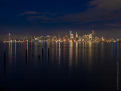 Seattle Skyline from Alki (www.mikereidphotography.com) Tags: seattle skyline reflection gfx50s