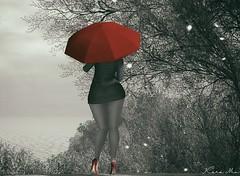 Under The Umbrella (кαяα ʍἶα яεqυιεм) Tags: diversion magika scandalize phedora blackwhite monochrome