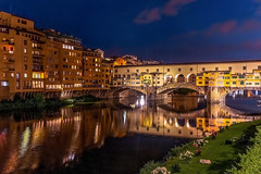 Ponte Vecchio by Night (Cole Chase Photography) Tags: florence italy firenze