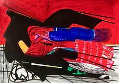 Jim Harris: Terraforming Tractor - Nepenthes Mensae, Mars. (Jim Harris: Artist.) Tags: mars art arte weltraum dessin zeitgenössische zeichnung drawing schilderij schoolofthemuseumoffinearts futurism futuristic