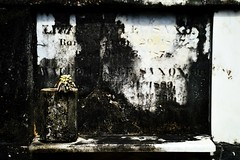 47 (onesecbeforethedub) Tags: vilem flusser technical images onesecbeforetheend onesecbeforethedub onesecaftertheend photoshop exposure contemporaryart streamofconsciousness vassilis galanos cemetery cemeteries graveyard graveyards spooky eerie uncanny mystery marble tomb tombs dead death goth gothic morbid