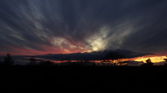 Evening sky (Steenjep) Tags: landskab landscape himmel sky herning jylland jutland danmark denmark solnedgang sunset cloud wind tree