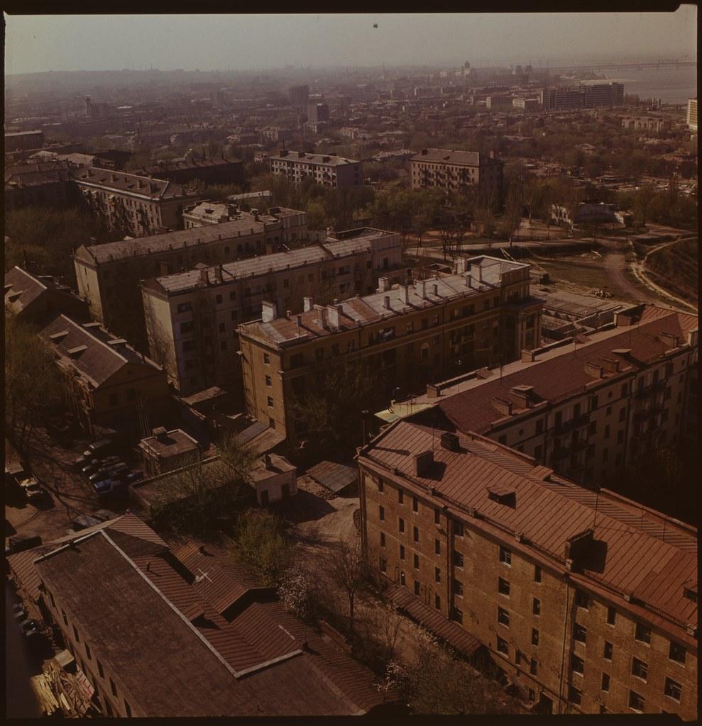 фото: Панорама с крыши Агроуниверситета - ORWO K06 6x6 FS4000 [Чубаров Э.П.]
