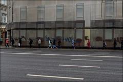 18drg0015 (dmitryzhkov) Tags: urban city everyday public place outdoor life human social stranger documentary photojournalism candid street dmitryryzhkov moscow russia streetphotography people man mankind humanity bw blackandwhite monochrome rain badweather