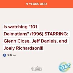 "Watched Disney ""101 Dalmatians"" (1996) ⚫️⚪️🐶🐾😈👠 [9 years ago] (12/05/10) Posted: 12/05/19 #tbt #timehop #waltdisneypictures #stephenherek #glennclose #disney #101dalmatians #comedyfilm (iTeodoro1991) Tags: 9yearsago tbt timehop waltdisneypictures stephenherek glennclose disney 101dalmatians comedy adventurefilm december5"