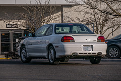 1998 Pontiac Grand Am (mlokren) Tags: 2019 car spotting photo photography photos pic picture pics pictures pacific northwest pnw pacnw oregon usa vehicle vehicles vehicular automobile automobiles automotive transportation outdoor outdoors gm general motors 1998 pontiac grand am 2door coupe white
