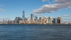 View of Manhattan (string_bass_dave) Tags: newyorkcity brooklynbridge newyork libertyisland unitedstates manhattan flickr nyc