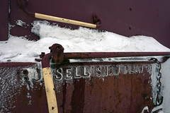 Highlighted by snow (CN Southwell) Tags: wc wisconsin central russell plow snowplow