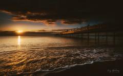 Bathed In Light (RTA Photography) Tags: sunrise paigntonpier nature outdoors nikon nikkor sea torbay devon pier beach light rtaphotography sky clouds seascape d750 dawn sun outside coast cielo flickr water