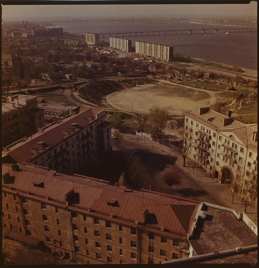 фото: Панорама с крыши Агроуниверситета - ORWO K01 6x6 FS4000 [Чубаров Э.П.]