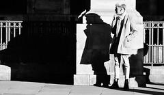 Double Draw  [Explored # 264] (jaykay72.) Tags: london uk street candid streetphotography kingwilliamstreet stphotographia blackandwhite bw
