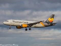 Thomas Cook Airlines EC-MVH OMD (U. Heinze) Tags: aircraft airlines airways airplane planespotting plane olympus omd em1markii 12100mm eddv haj hannoverlangenhagenairporthaj flugzeug