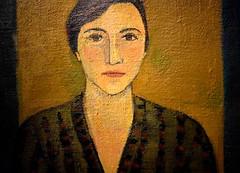Portrait (thomasgorman1) Tags: painting oil canvas barcelona art museum mnac nikon portrait woman face 1959 musea catalonia spain
