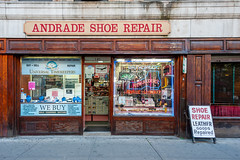 Andrade Shoe Repair (SLpixeLS) Tags: usa unitedstatesamerica newyorkcity manhattan shop street andradeshoerepair shoes