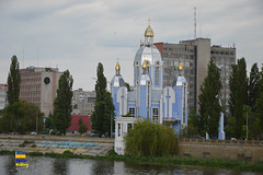 Church Vinnytsia (Кевін Бієтри) Tags: very nice church city vinnytsia ukraine ua ukraina building architecture water river tower grass dome cathedral old spire tree outdoors castle street temple landmark outdoor travel reflection plant noperson town sky kevinbietry kevinbiétry spotterbietry