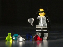 Diamonds are a Girl's best Friend (captain_j03) Tags: lowkey toy spielzeug 365toyproject lego series15 minifigure minifig thief jewell lookingcloseonfriday