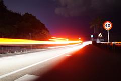 South_Europe_Night_Road (uhtyjejik) Tags: barcelona spain france monaco montserrat nightroad