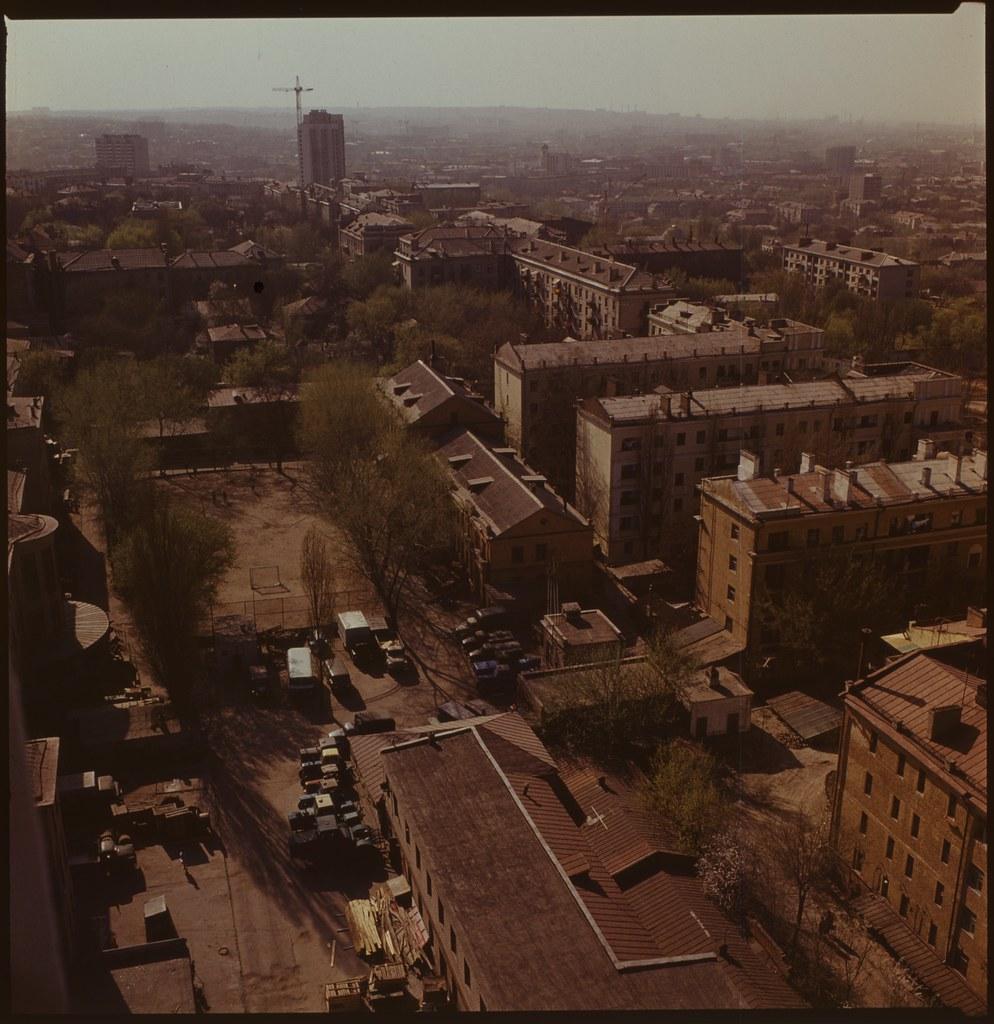 фото: Панорама с крыши Агроуниверситета - ORWO K07 6x6 FS4000 [Чубаров Э.П.]